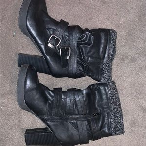 Union bay boots womens size 10